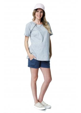 חולצת ריצ' ראצ' אפורה