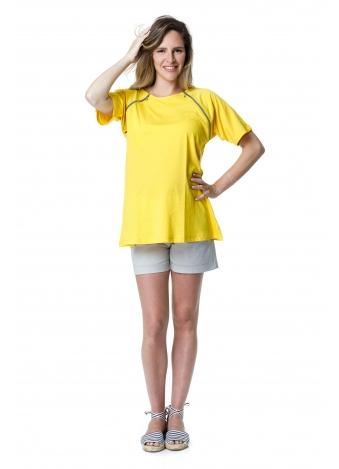 חולצת ריצ' ראצ' צהובה