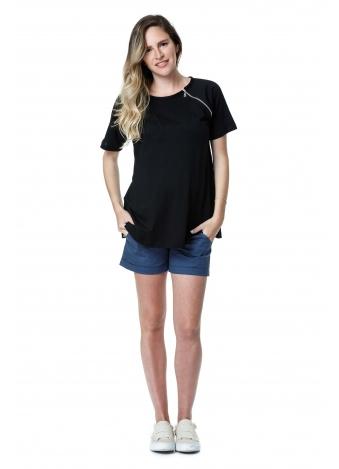 חולצת ריצ' ראצ' שחורה