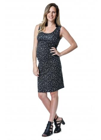 שמלת רוני שחורה עם עיטורים