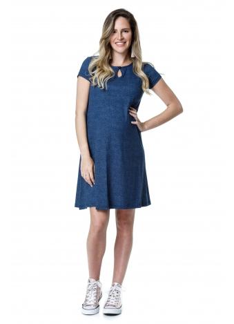 שמלת רונה כחולה