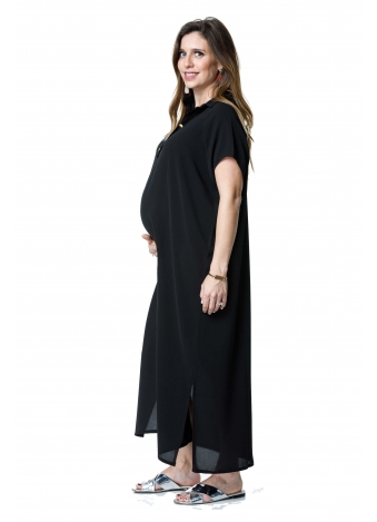 שמלת רותם מקסי שחורה