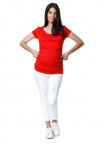 חולצת בייסיק אדומה