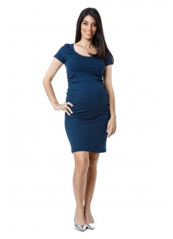 שמלת בייסיק כחולה