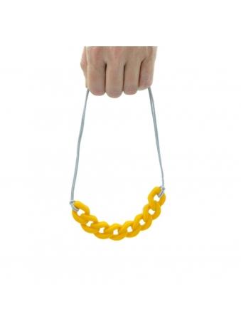 שרשרת צמודה צהובה