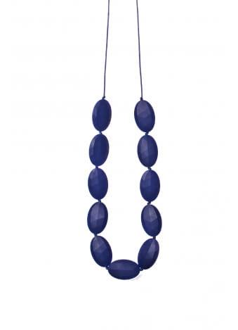 שרשרת קומי ארוכה כחולה