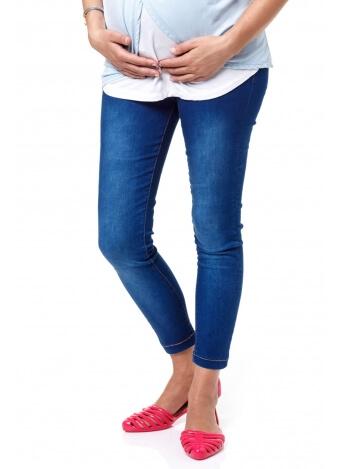 מכנס שלומית כחול משופשף