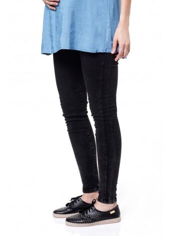 מכנס שלומית ארוך- סקיני אפור שחור