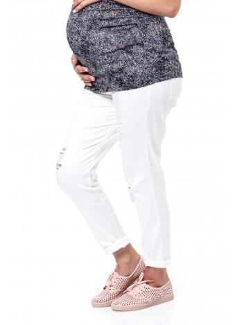 מכנס שלומית לבן