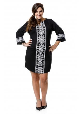 שמלת גלבייה דפוס