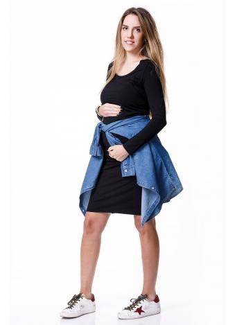 שמלת בייסיק שרוול ארוך