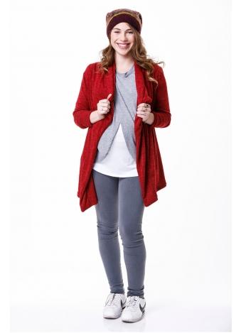 חולצת עליונית אדומה