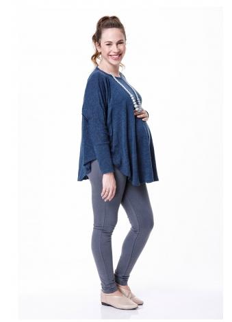 חולצת ליאור שרוול ארוך כחולה