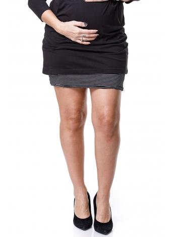 חצאית לייקרה אפורה