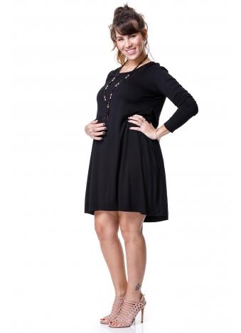 שמלת פסים שחורה